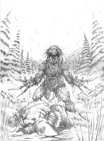 Weapon X pencils by VASS-comics