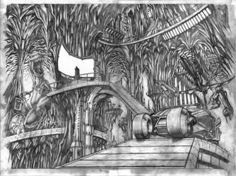 Batcave by VASS-comics