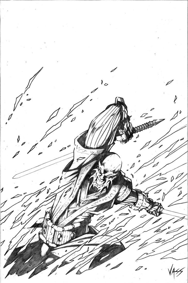 Marauder Pencils by VASS-comics