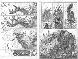 Sith Juggernaut pages 4-5 of 7 by VASS-comics