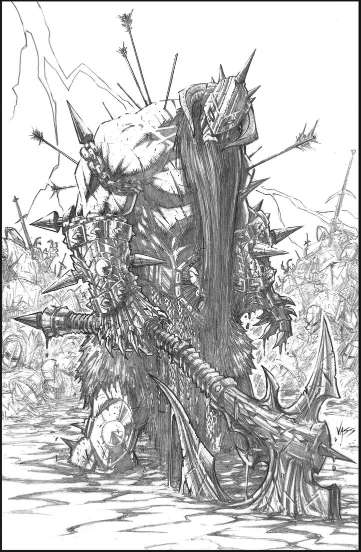 Murderthane 2013 pencils by VASS-comics