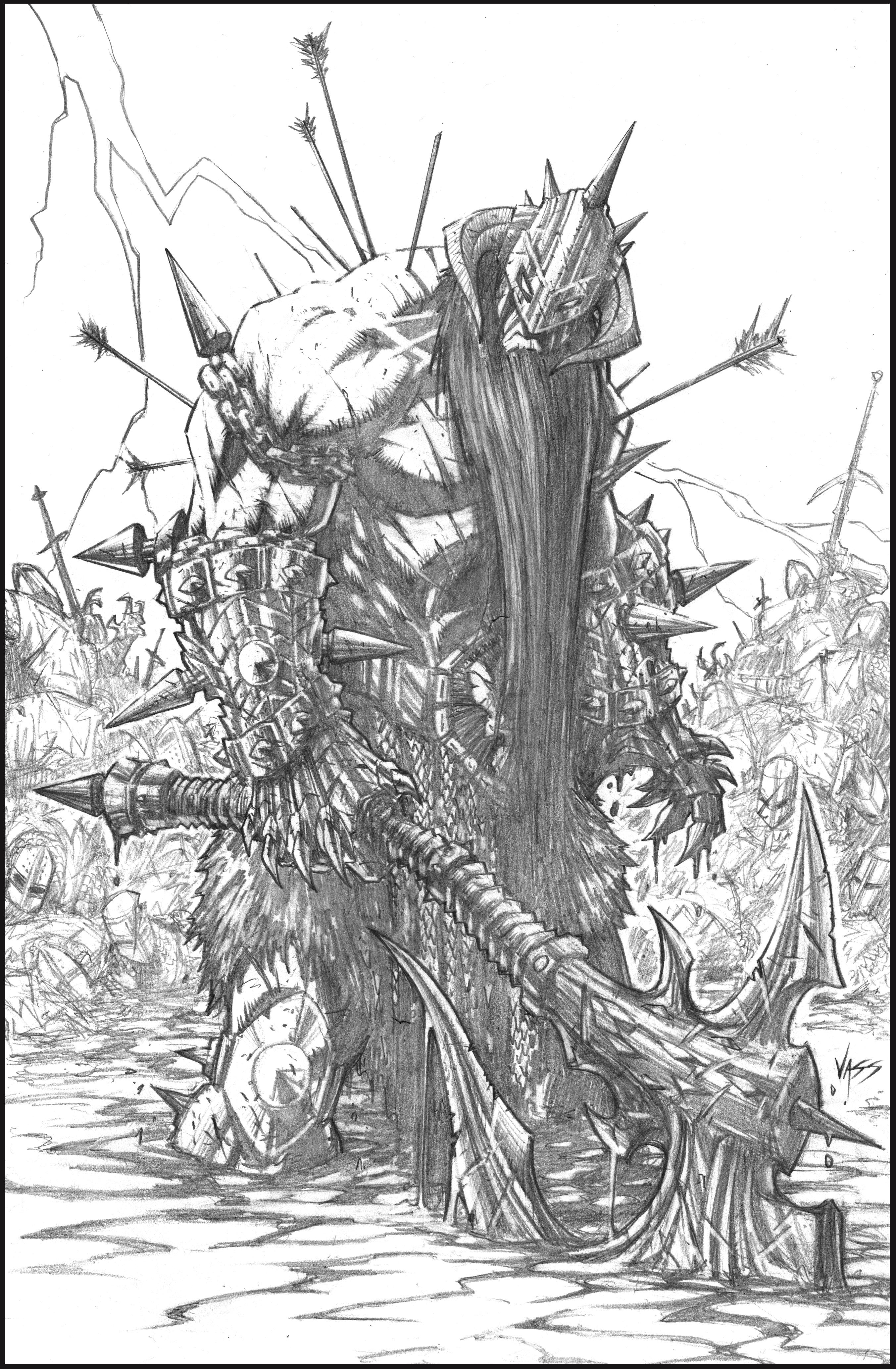Comic Book Cover Drawing : Murderthane pencils by vass comics on deviantart