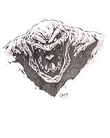 Clayface sketch by VASS-comics