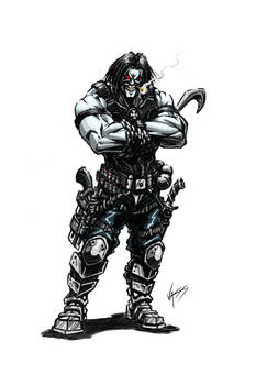 Lobo the Bounty Hunter quick colors
