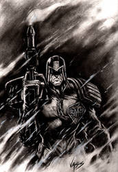Judge Dredd  11-13 by VASS-comics