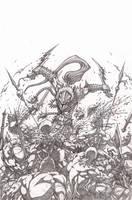 Elflord cover pencils low rez by VASS-comics