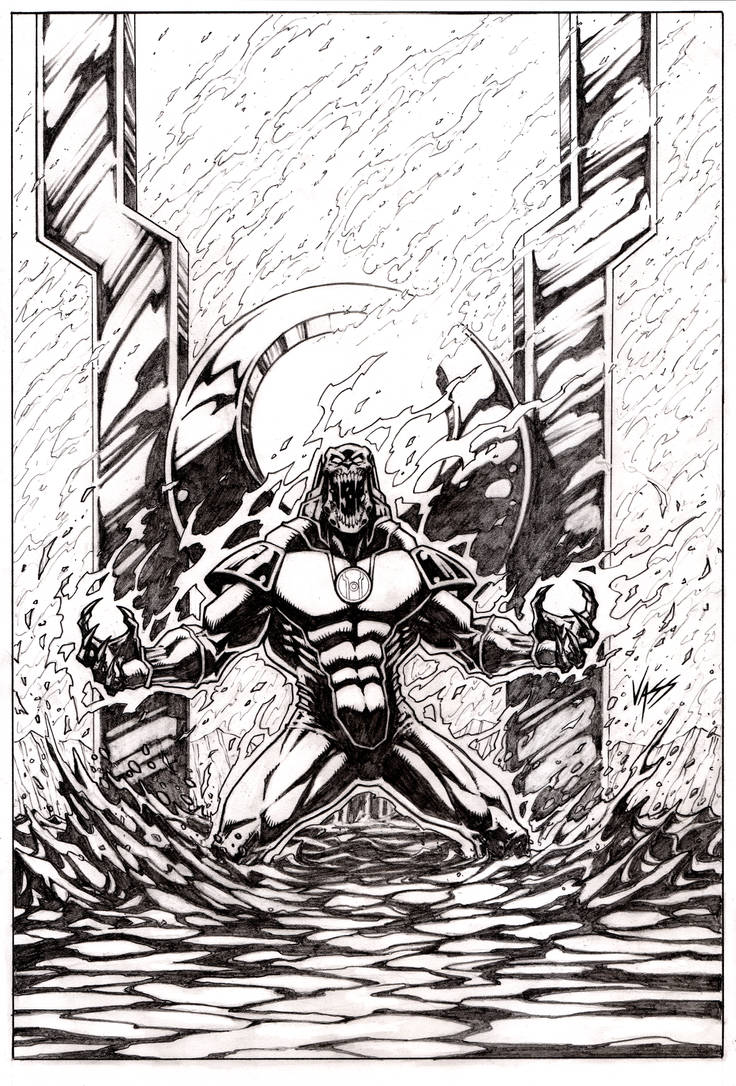Atrocitus Commission by VASS-comics