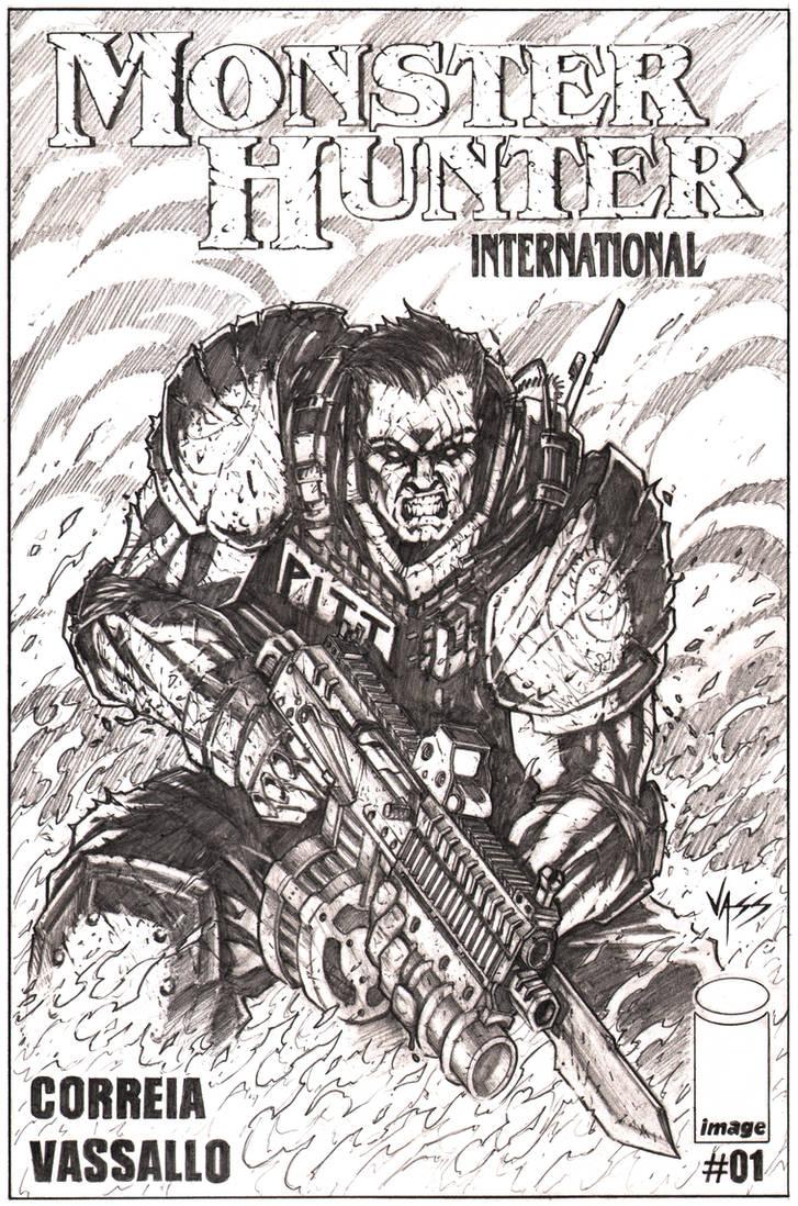 MHI comic cover by VASS-comics