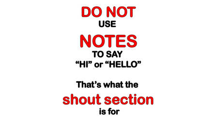 Rule on notes by thestooge2222