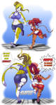 Jogging with Britanny by DonkeySonic by thestooge2222