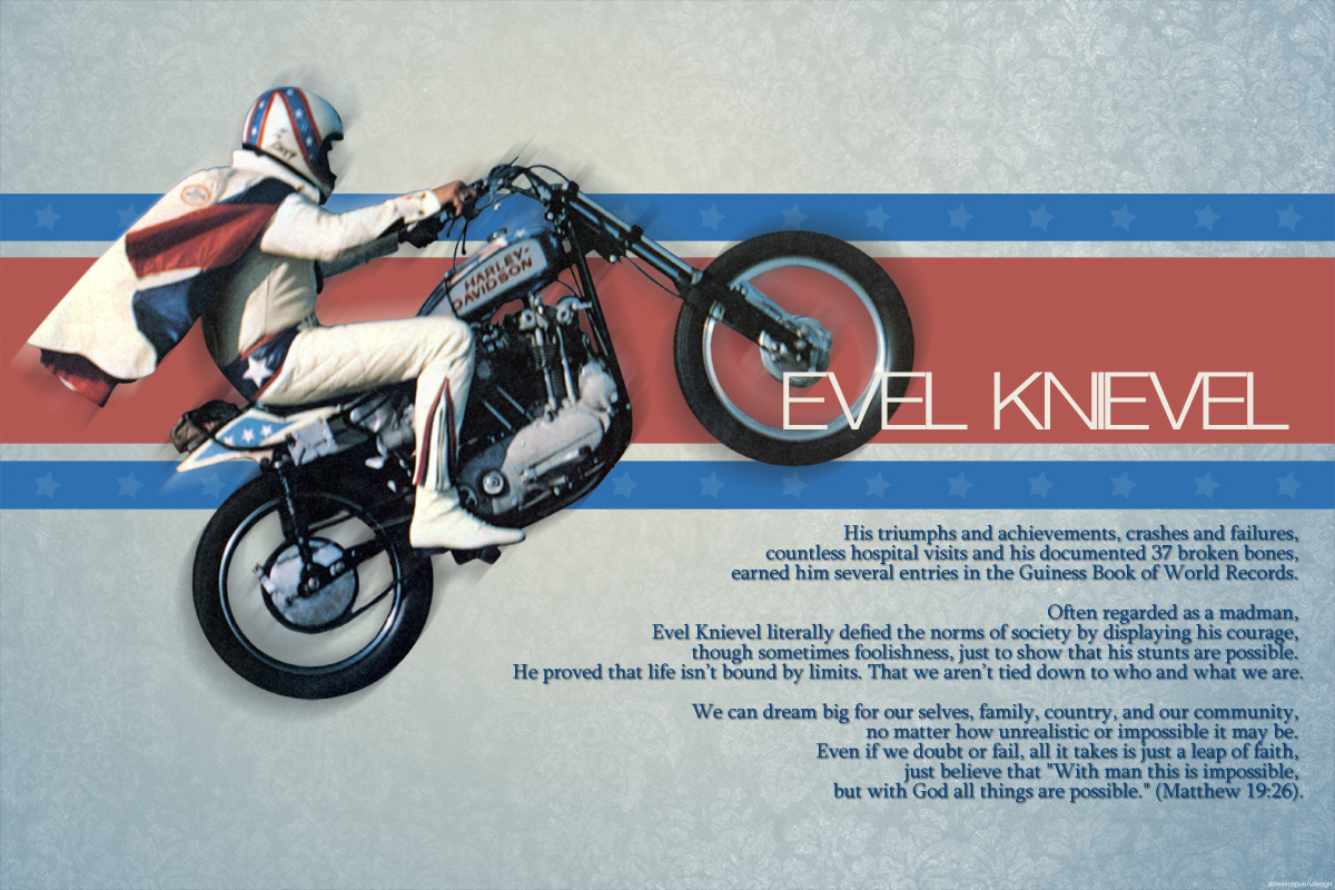 Evel Knievel 1200: Evel Knievel By Dominicapuan On DeviantArt