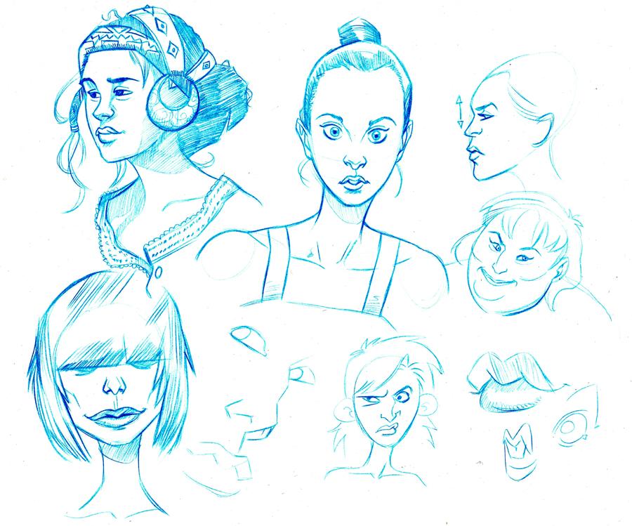 sketches 28 by TeeDizzle