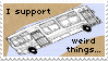 Weird Things Stamp by KoRn-sTaR60291