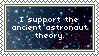 Ancient Astronaut Theory Stamp by KoRn-sTaR60291