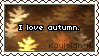 'I Love Autumn' Stamp by KoRn-sTaR60291