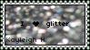 Silver Glitter Stamp