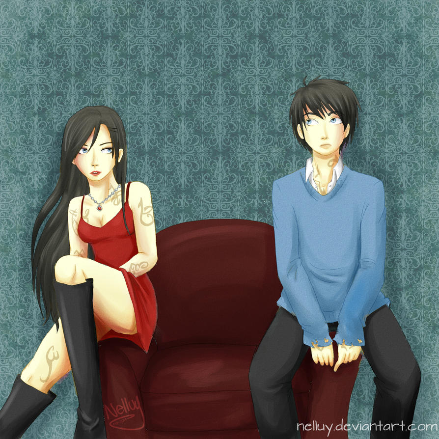 Showing her how to play video games.[': Simon and Isabelle ... |Isabelle Lightwood And Simon Lewis Fan Art