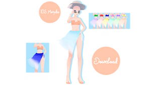 Tda Tropical Bloom Outfit Base Download