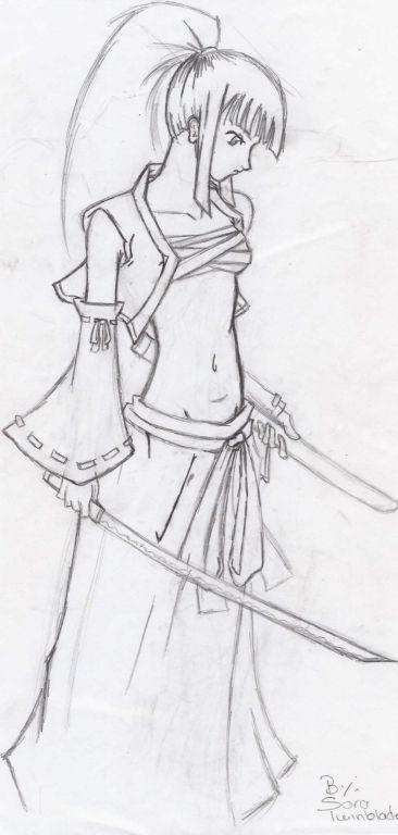samurai by SoraTwinblade