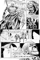 Gloom Issue Zero Page Four by patrickstrange