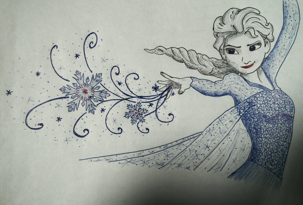 Elsa in Biros by cj1206
