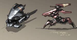 concept of 2 robots