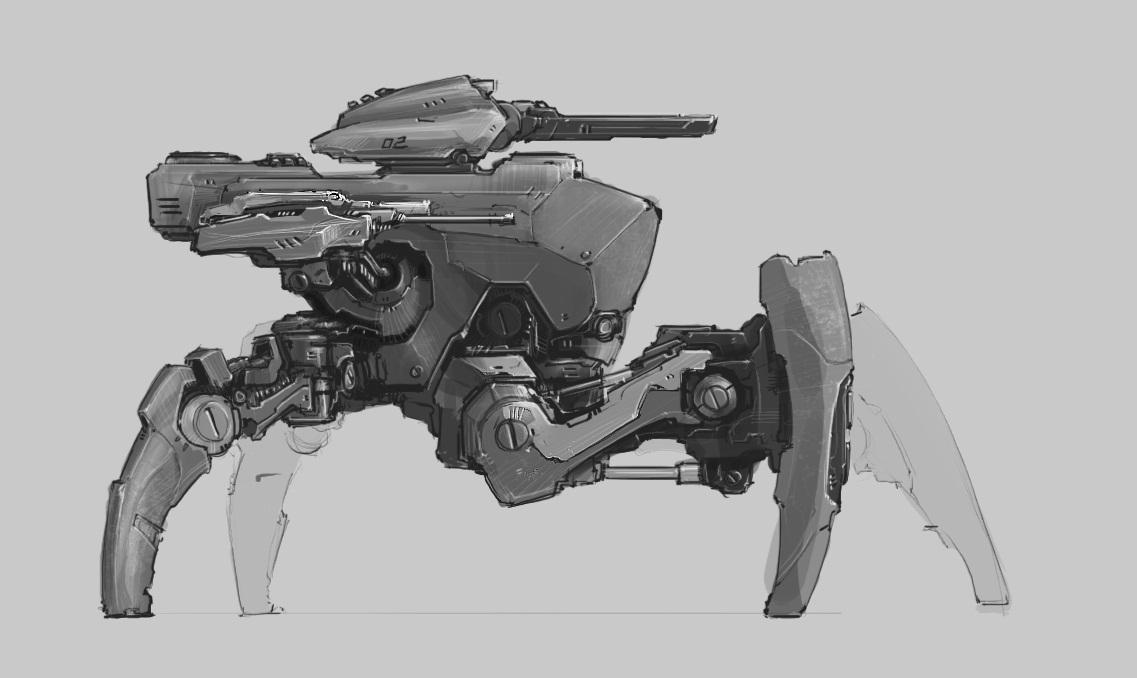 main battle robot by ProgV