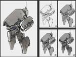 anti-infantry robot