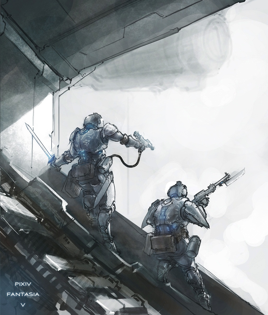 hold the line by ProgV