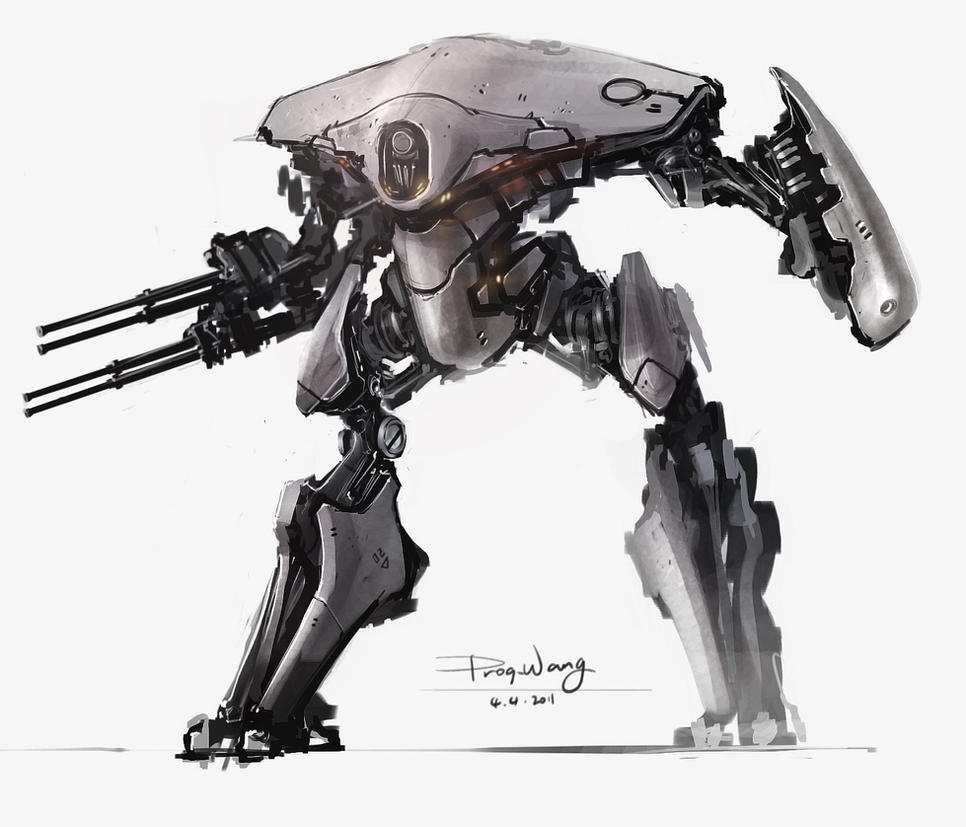 still a mech by ProgV