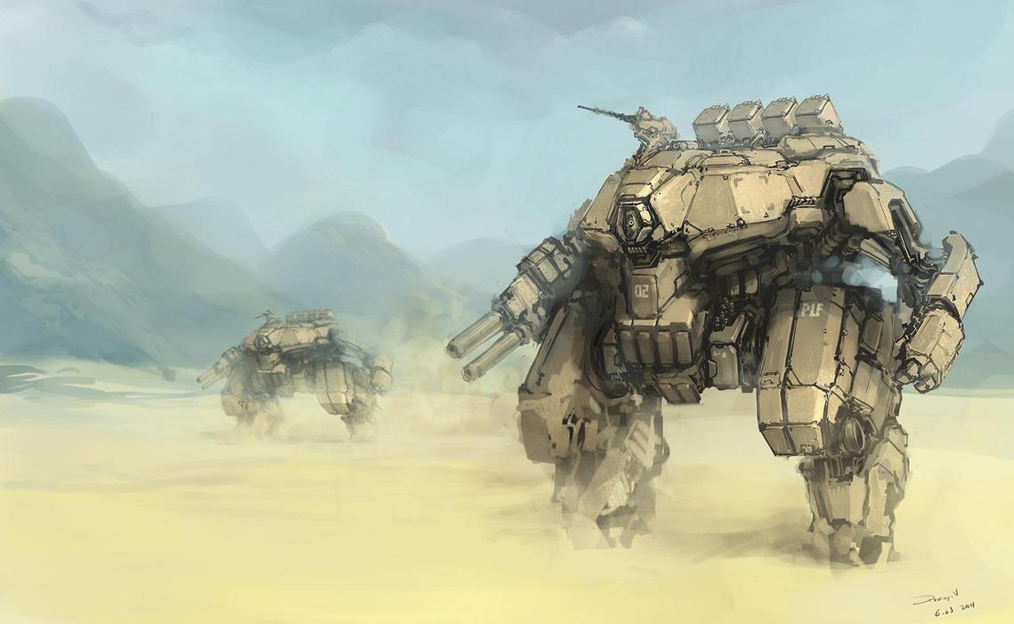 Main Battle Mech by ProgV