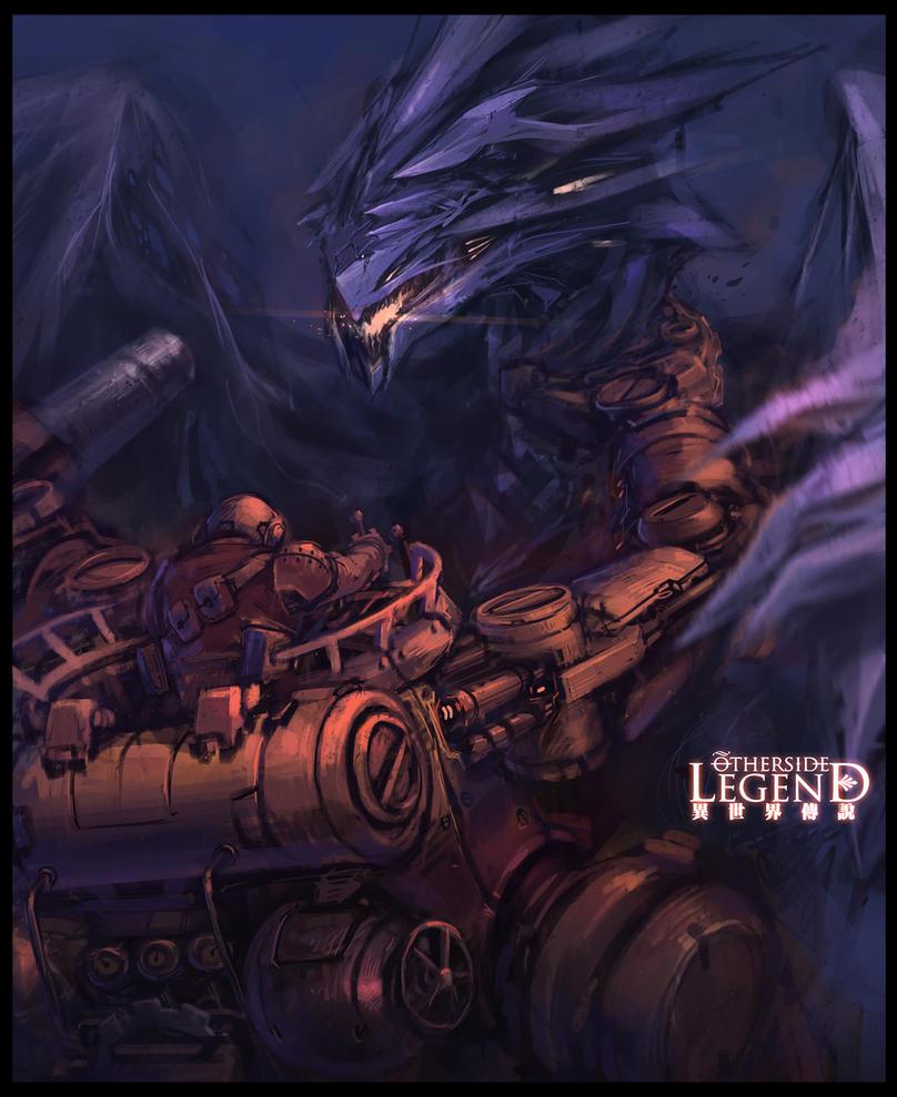 Mech VS Dragon! by *ProgV