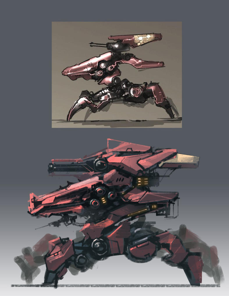 ASSAULT MECHA by ProgV