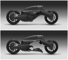 M61 REAVER Military Motorcycle