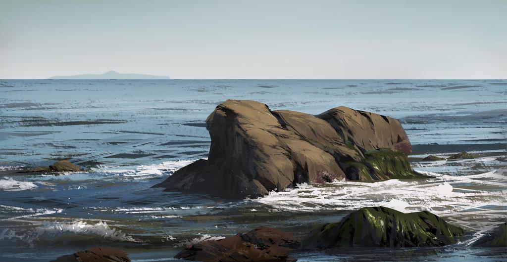 La Piedra State Beach by ProgV