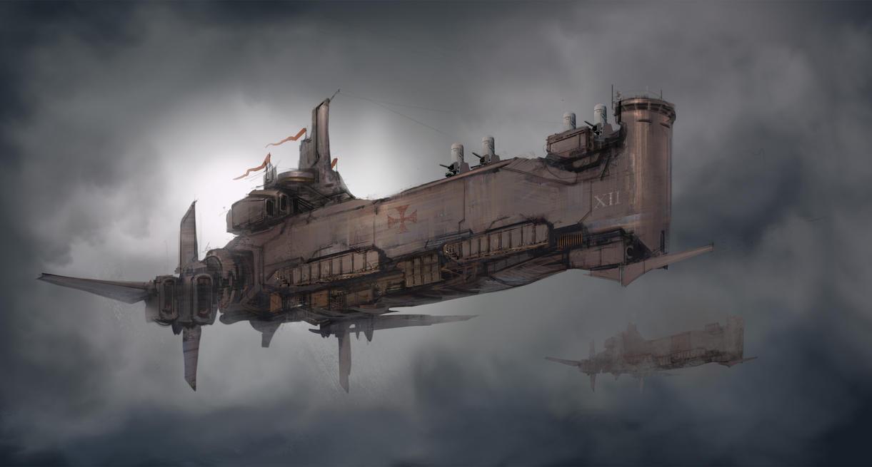Crusade Battleship by ProgV