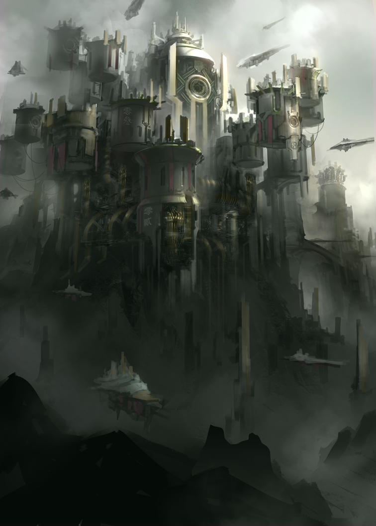 City of Ship Factories by ProgV