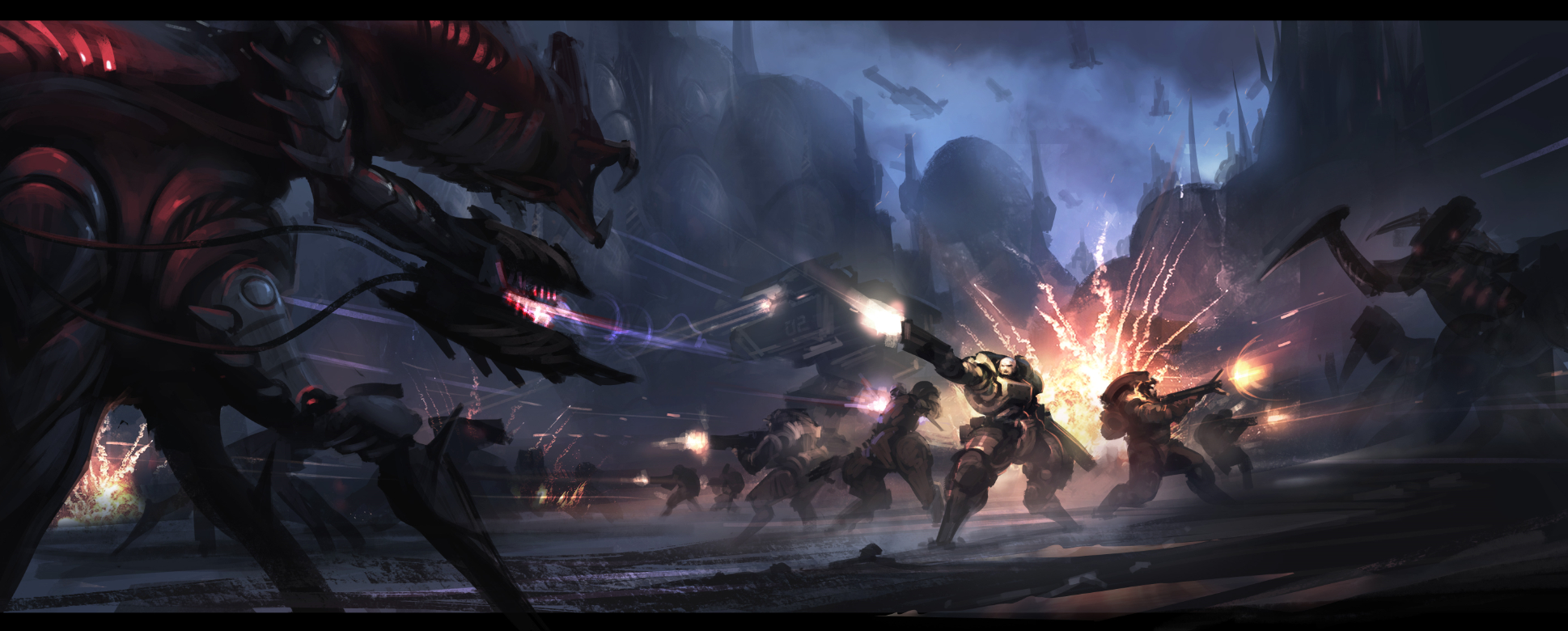 starship troopers by progv on deviantart