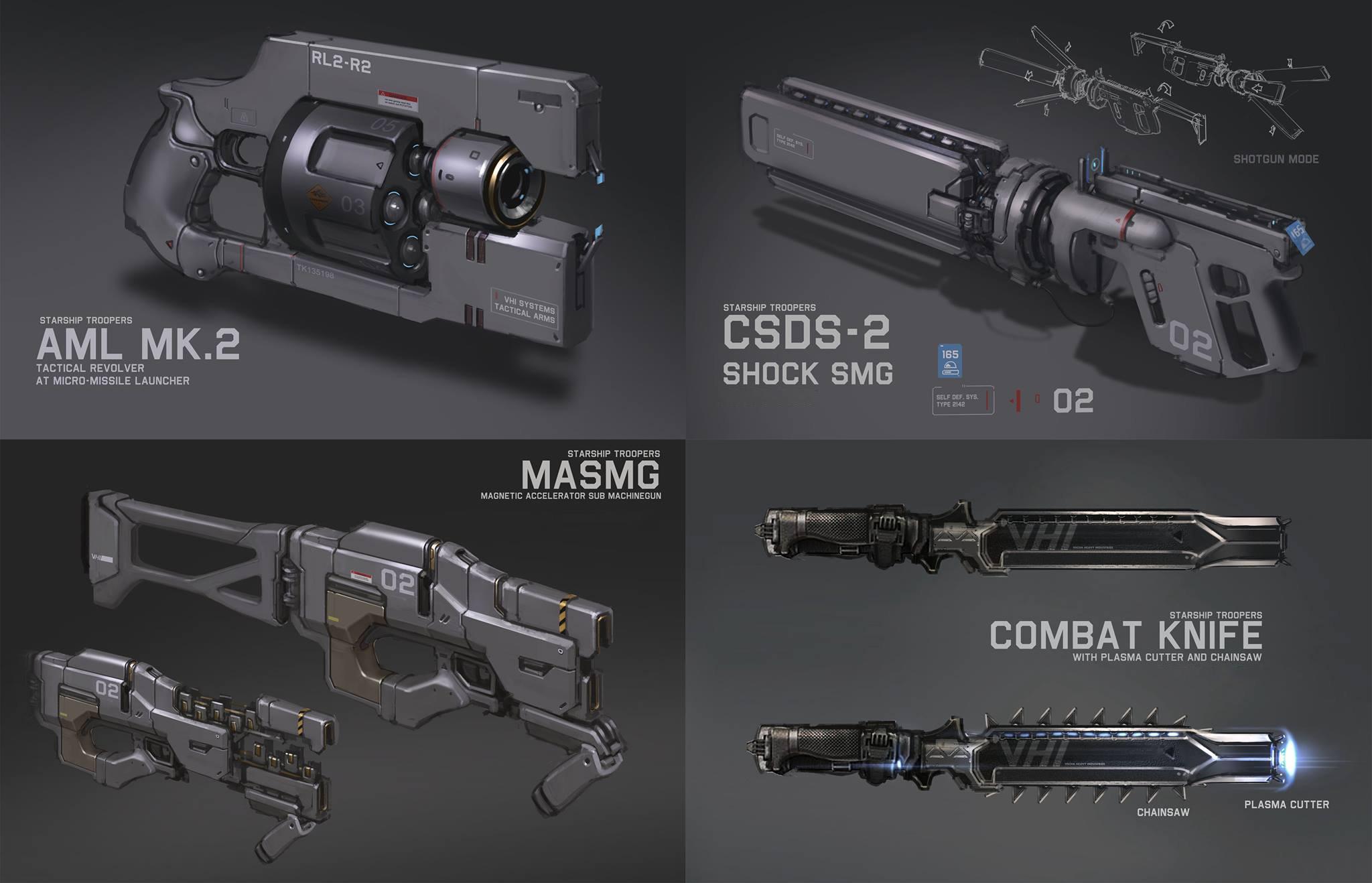 Weapon Design by ProgV on DeviantArt