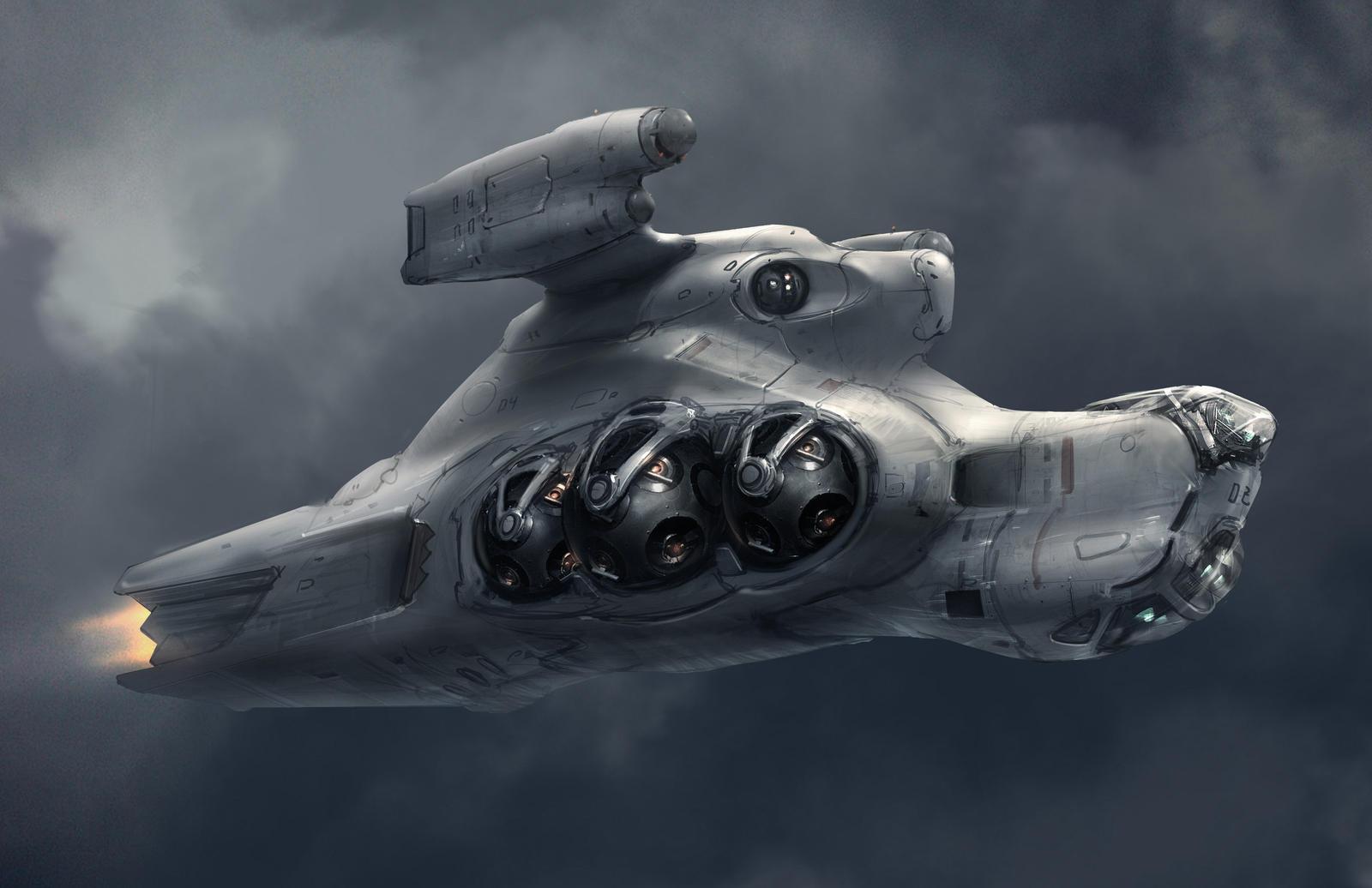 gun ship by ProgV