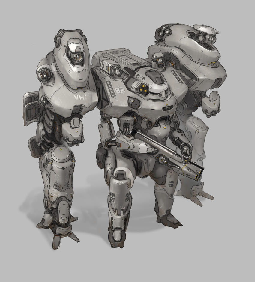 Exo Suit by ProgV