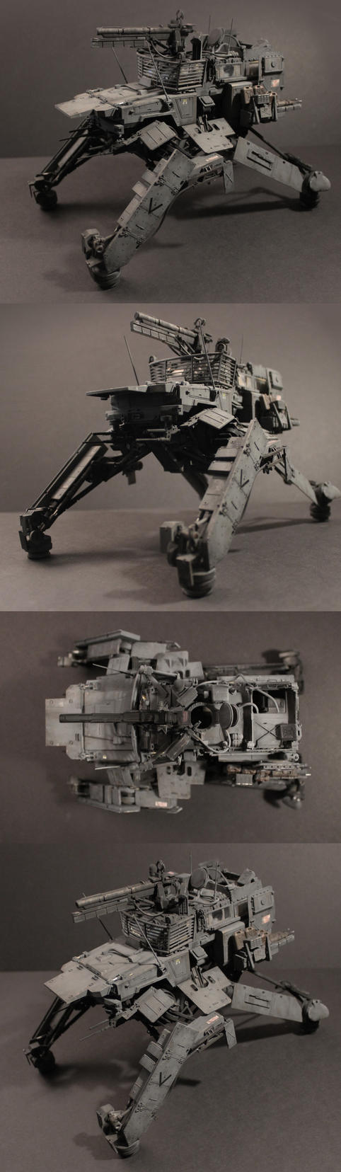 kitbash mech by ProgV