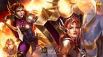 Wallpaper Leona - League of Legends