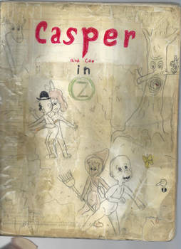 Casper and Co. in OZ (cover)
