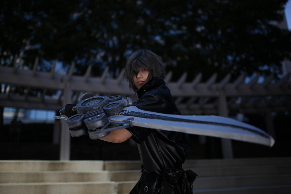 Final Fantasy versus XIII - Noctis by snow0storm