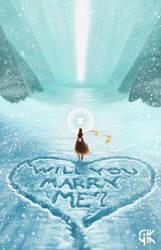 Journey Fan Art Marriage Proposal