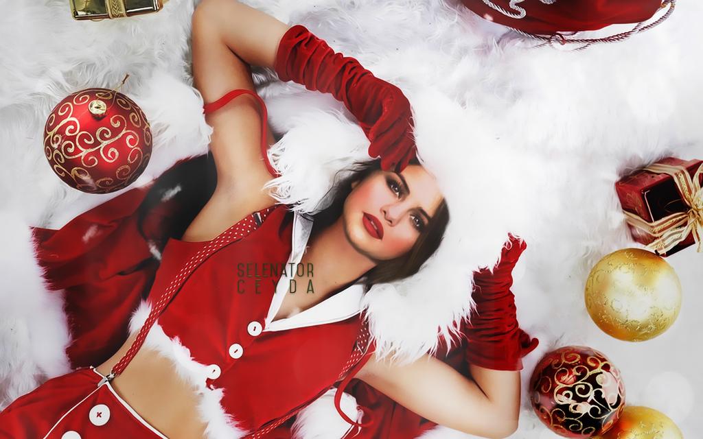 Christmas Edit #1 | Selena Gomez Christmas Edit #1 by selenatorceyda