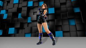Asuka Kazama black and blue