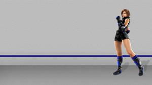 Asuka Kazama in black and blue (2nd version)