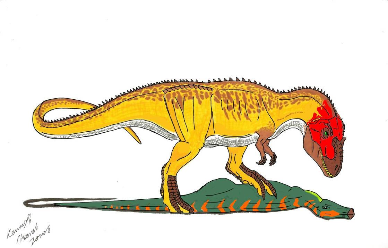 Albertosaurus by Dino-master